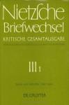 Briefwechsel, Briefe von Nietzsche 1/1880-12/1884: Kritische Gesamtausgabe 3.1 - Friedrich Nietzsche, Mazzino Montinari, Giorgio Colli