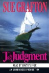 J Is For Judgment (Audio) - Mary Peiffer, Sue Grafton