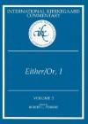 Either/Or, Part I - Søren Kierkegaard, George Howard