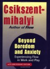 Beyond Boredom and Anxiety: Experiencing Flow in Work and Play - Mihaly Csikszentmihalyi