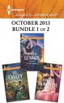Harlequin Superromance October 2013 - Bundle 1 of 2: His Brown-Eyed GirlIn This TogetherNot Another Wedding - Liz Talley, Kara Lennox, Jennifer McKenzie