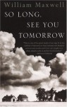 So Long, See You Tomorrow: Virtage International Edition - William Maxwell