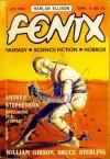 Fenix 1993 7 (23) - Ewa Białołęcka, Andrzej Drzewiński, William Gibson, Bruce Sterling, Harlan Ellison, Redakcja magazynu Fenix, Andrew Stephenson