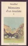 Mémoires d'un touriste II - Stendhal