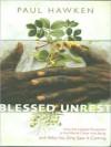 Blessed Unrest (MP3 Book) - Paul Hawken, Paul Michael Garcia