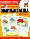 Modern Giant Basic Skills Kindergarten Workbook [With Reward StickersWith CD] - Modern Publishing