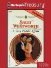 A Very Public Affair (Harlequin Presents) - Sally Wentworth