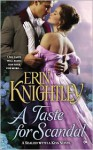 A Taste for Scandal - Erin Knightley