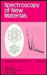 Spectroscopy of New Materials - R.J.H. Clark