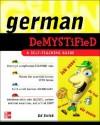 German Demystified: A Self Teaching Guide - Ed Swick