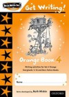 Read Write Inc. Phonics: Get Writing!: Orange Book 4 - Ruth Miskin