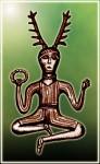 Cernnunos, Ancient Celtic God - J.M. Reinbold