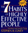 Seven Habits of Highly Effective People, Miniature Edition - Stephen R. Covey