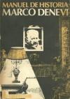 Manuel de historia - Marco Denevi