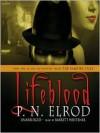 Lifeblood: The Vampire Files Series, Book 2 (MP3 Book) - P.N. Elrod, Barrett Whitener