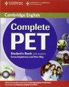Complete Pet Student's Book With Answers With Cd Rom - Emma Heyderman, Peter May