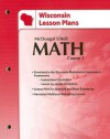 Wisconsin Lesson Plans: Math Course 1 - McDougal Littell, Ron Larson, Boswell