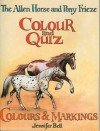 The Allen Horse and Pony Frieze Colour and Quiz: Colours & Markings - Jennifer Bell