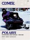 Polaris Snowmobile Shop Manual 1990-1995 (Clymer Snowmobile Repair Series) - Ron Wright