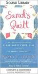Sarah's Quilt: The Continuing Story of Sarah Agnes Prine, 1906 - Nancy E. Turner, Valerie Leonard
