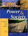 Power and Society: An Introduction to the Social Sciences - Brigid C. Harrison, Thomas R. Dye