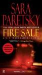 Fire Sale (Audio) - Sara Paretsky, Sandra Burr