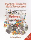 Practical Business Math Procedures, Brief Edition, With Dvd And Business Math Handbook - Jeffrey Slater