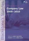 Blackstone's Statutes on Company Law 2009-2010 - Derek French