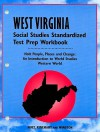 West Virginia Social Studies Standardized Test Prep Workbook: Holt People, Places and Change: An Introduction to World Studies Western World - Holt Rinehart