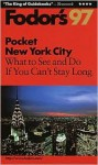 FODOR-POCKET NEW YORK CITY '92 (paperback) - Fodor's Travel Publications Inc.