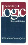 Elementary Logic - Willard Van Orman Quine