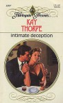 Intimate Deception - Kay Thorpe