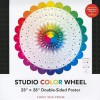 Studio Color Wheel: 28 X 28 Double-Sided Poster - NOT A BOOK
