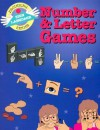 Number & Letter Games (Beginning Sign Language Series) (Signed English) - S. Harold Collins, Kathy Kifer, Dahna Solar