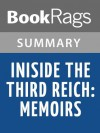 Inside the Third Reich: Memoirs by Albert Speer l Summary & Study Guide - BookRags