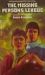 The Missing Persons League - Frank Bonham