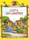 Just a Gum Wrapper (Softcover Little Golden Book) - Gina Mayer, Mercer Mayer