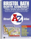 Bristol, Bath and North Somerset Street Atlas - Great Britain