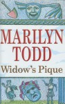 Widow's Pique - Marilyn Todd