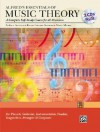 Alfred's Essentials of Music Theory: A Complete Self-Study Course for All Musicians (Book & 2 CDs) - Andrew Surmani