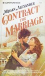 Contract For Marriage - Meg Alexander