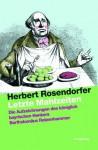 Letzte Mahlzeiten - Herbert Rosendorfer, Herbert Hintner, Martin Geier