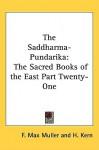 Saddharma-Pundarika - Max Müller, H. Kern
