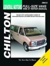 GM Full-Size Vans 1998-07 Repair Manaul - Mike Stubblefield