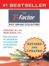 T Factor Fat Gram Counter with 3 Week Recording Diary - Martin Katahn