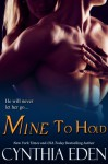 Mine to Hold - Cynthia Eden