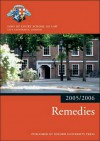 Bar Manual: Remedies 2005/6 - Inns of Court School of Law
