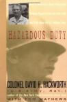Hazardous Duty - David H. Hackworth