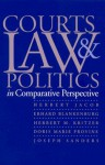 Courts, Law, and Politics in Comparative Perspective - Herbert Jacob, Erhard Blankenburg, Herbert M. Kritzer, Doris Marie Provine, Joseph Sanders