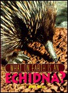 What on Earth is an Echidna? - Jenny E. Tesar